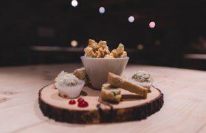 Kuhstall Sils-Furtschellas Caramell-Popcorn und Friandises