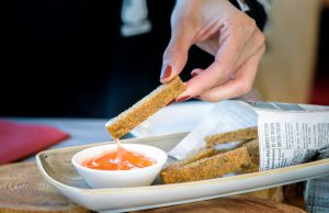 Restaurant 3303 Corvatsch Polenta Fries